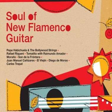 Soul of new flamenco guitar